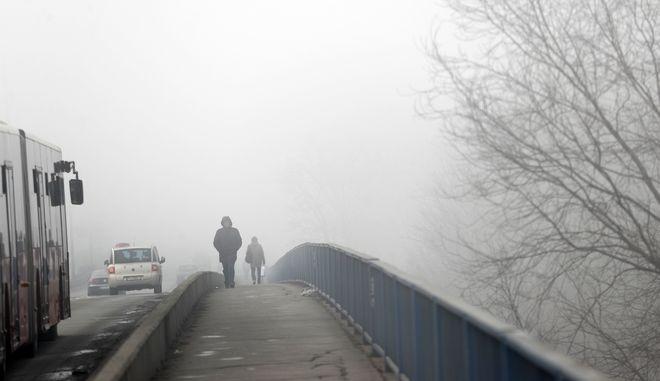 Ατμοσφαιρική ρύπανση στο Βελιγράδι