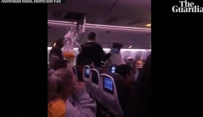 """Air Canada: Πτήση τρόμου με δεκάδες τραυματίες - """"Σκάσαμε στο ταβάνι παραλίγο να το τρυπήσουμε!"""""""