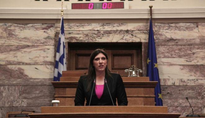 'Φυσάει κόντρα' η Κωνσταντοπούλου: Φέρνει πρόταση του ΚΚΕ στην Ολομέλεια