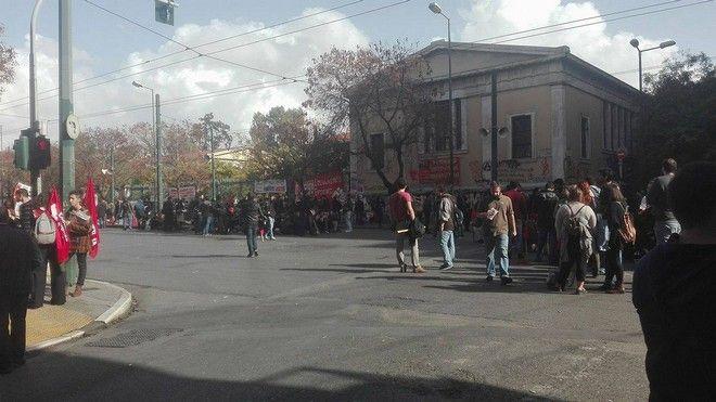 Κατάληψη στο ΕΜΠ-Σε συναγερμό η ΕΛΑΣ μετά την ανακοίνωση για πολεμοφόδια