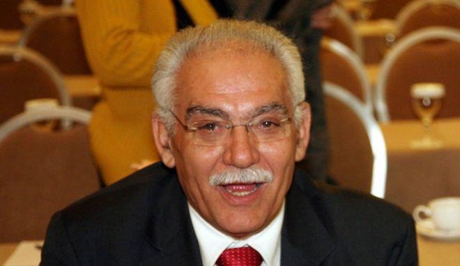Ο πρώην υπουργός Μανώλης Σκουλάκης