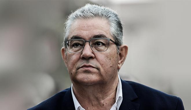 Ο Γενικός Γραμματέας της ΚΕ του ΚΚΕ, Δημήτρης Κουτσούμπας