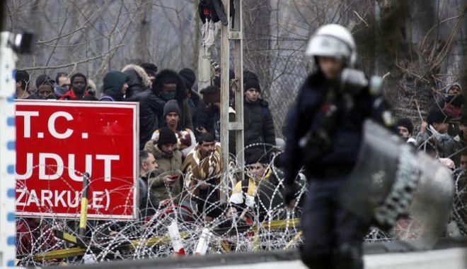 Μετανάστες στα ελληνοτουρκικά σύνορα