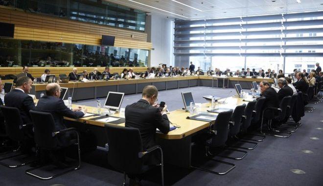 Συνεδρίαση του Eurogroup, την Δευτέρα 7 Μαρτίου 2016, στις Βρυξέλλες. (EUROKINISSI/ΕΥΡΩΠΑΪΚΗ ΕΝΩΣΗ)