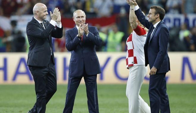 Η Ρωσία μπορεί να είναι περήφανη για τη διοργάνωση του Μουντιάλ δήλωσε ο Πούτιν