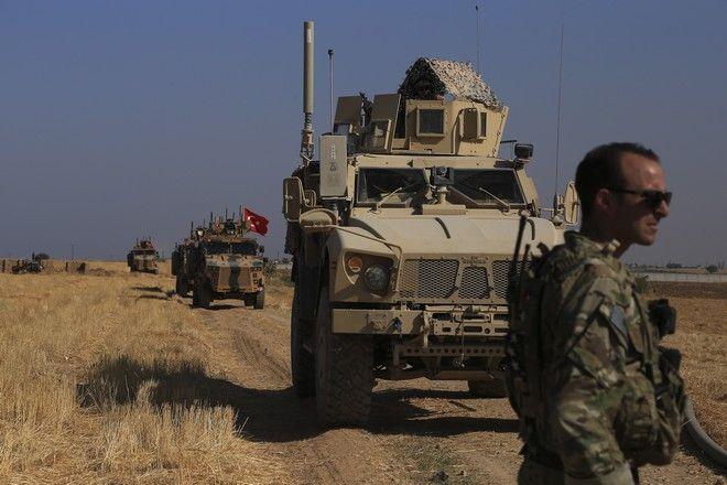 Τουρκικά και αμερικανικά στρατεύματα στην αποκαλούμενη