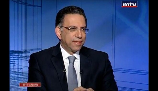 O υπουργός Περιβάλλοντος του Λιβάνου, Νταμιανός Κατάρ