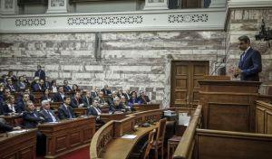 Συνεδρίαση της Κοινοβουλευτικής Ομάδας της Νέας Δημοκρατίας την Πέμπτη 15 Φεβρουαρίου 2018. (EUROKINISSI/ΓΙΩΡΓΟΣ ΚΟΝΤΑΡΙΝΗΣ)