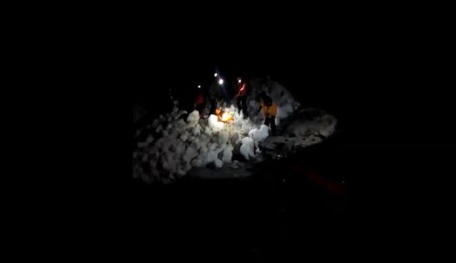Βίντεο: Η επιχείρηση διάσωσης των ορειβατών στον Όλυμπο