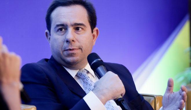 Ο υφυπουργός Εργασίας και Κοινωνικών Υποθέσεων, Νότης Μηταράκης