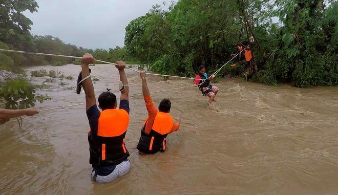 Τυφώνας στις Φιλιππίνες