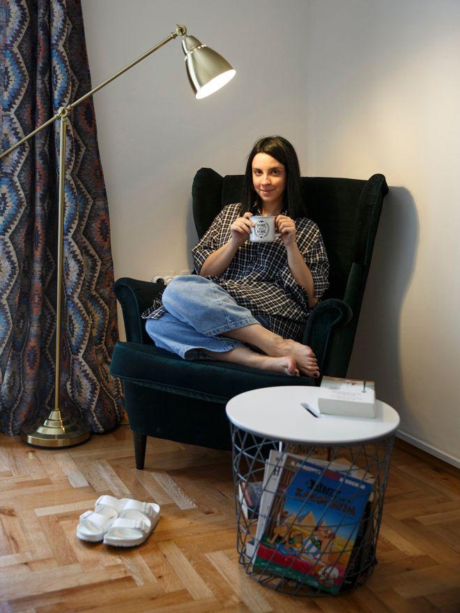 Η αγαπημένη μου γωνιά στο σαλόνι και η ''βασίλισσα'' πολυθρόνα