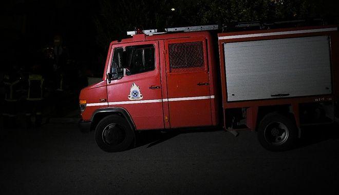 Δυνάμεις της πυροσβεστικής - Φωτό αρχείου