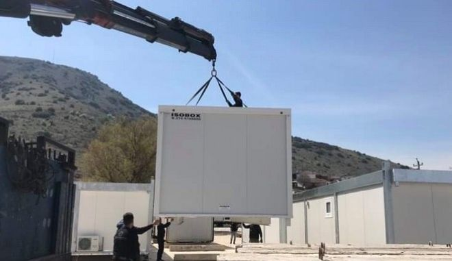 Θεσσαλία: Σε οικίσκους και τροχόσπιτα εγκαταστάθηκαν 197 οικογένειες ένα μήνα μετά τον σεισμό
