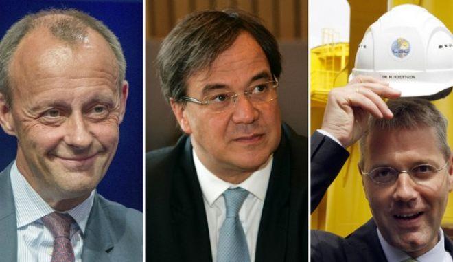 Γερμανία: Ποιοι διεκδικούν την ηγεσία του CDU