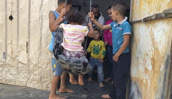 Σύριοι πρόσφυγες στην Ιορδανία