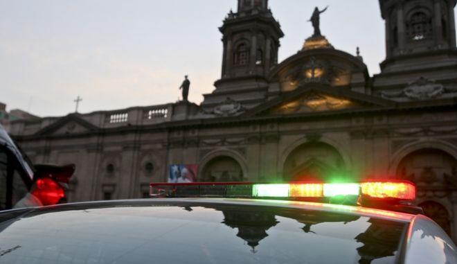 Περιπολικό στο Σαντιάγο