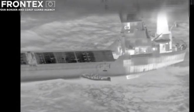 Βίντεο με το «ρεσάλτο» της Μονάδας Υποβρύχιων Αποστολών στο πλοίο «NOKA»