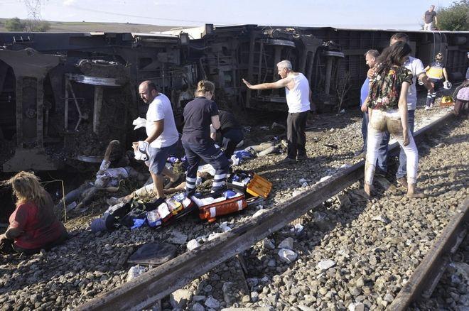 Το τρένο μετέφερε 362 επιβάτες και ερχόταν από το Καπίκουλε, στα βουλγαρικά σύνορα, με προορισμό την Κωνσταντινούπολη