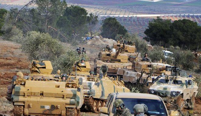 Τουρκικά στρατεύματα στη Συρία