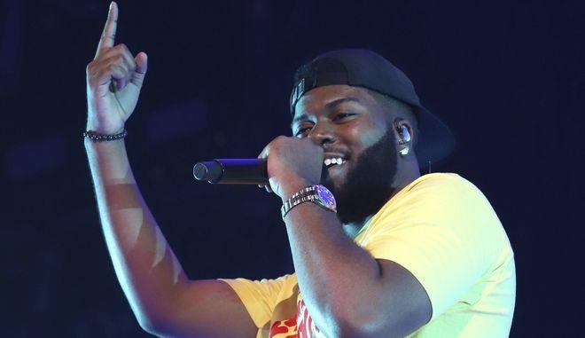 Ο Αμερικανός τραγουδιστής της R&B Khalid