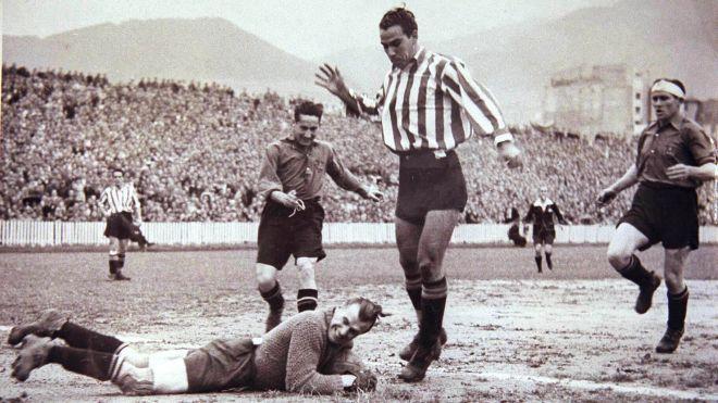 Ο Τέλμο Θάρα, ο μεγαλύτερος σκόρερ στην ιστορία της Αθλέτικ, με 333 γκολ.