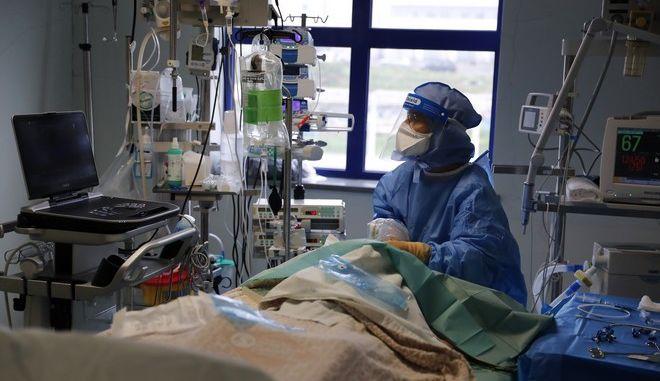 ΜΕΘ κορονοϊού σε νοσοκομείο της Λισαβόνας