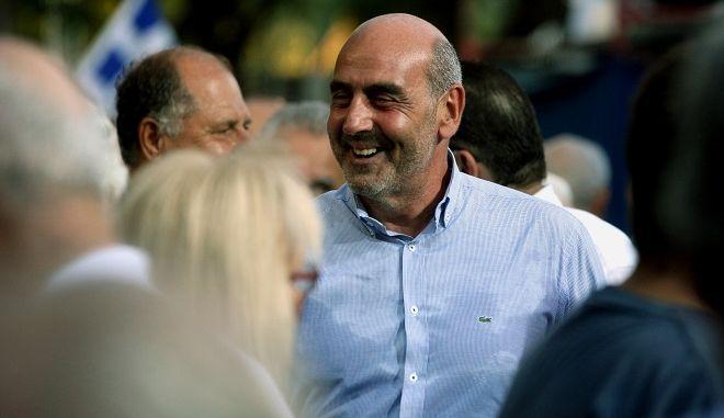 Ο πρώην υπουργός Γιώργος Βουλγαράκης