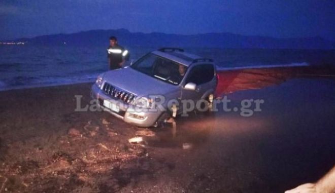 Παραλίγο τραγωδία με 4μελή οικογένεια στην παραλία της Αρκίτσας