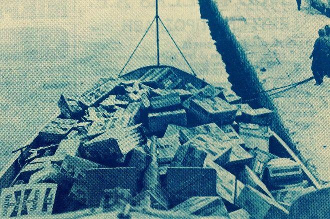 Ναυάγιο Ζακύνθου: 37 χρόνια πριν. Όταν η θάλασσα γέμισε πακέτα από λαθραία τσιγάρα