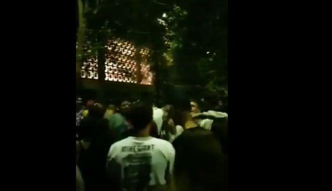 Εικόνες συνωστισμού στη Θεσσαλονίκη - Πάρτι με 1.500 άτομα στο ΑΠΘ