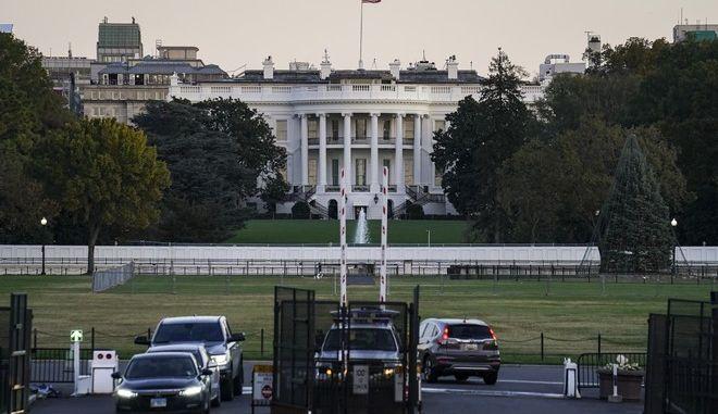 Φράχτης στον Λευκό Οίκο