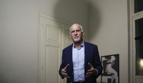 Ο Γιώργος Παπανδρέου ανακοινώνοντας την υποψηφιότητά του για την ηγεσία του ΚΙΝΑΛ