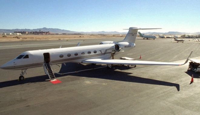 A Gulfstream V φωτογραφία αρχείου