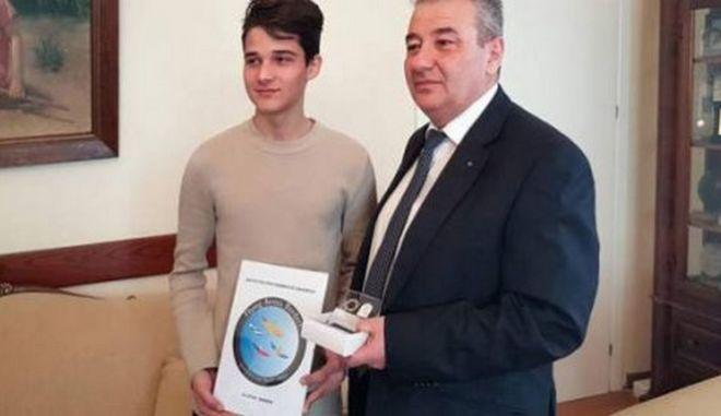 Μαθητής από την Ξάνθη κέρδισε το 1ο βραβείο λογοτύπου στο ευρωπαϊκό πρόγραμμα Erasmus+