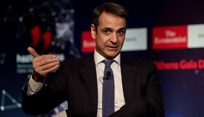 """Εκδήλωση του Economist """"ο κόσμος το 2019"""" στην οποία μίλησε ο Κυριάκος Μητσοτάκης"""