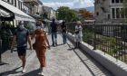 Κόσμος στο κέντρο της Αθήνας (φωτογραφία αρχείου)