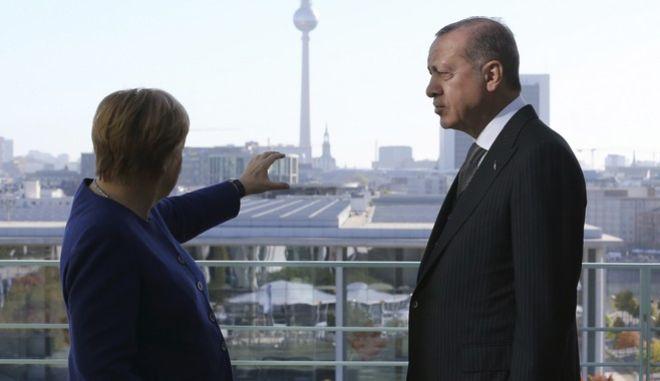 Φωτό αρχείου: Από την συνάντηση Μέρκελ - Ερντογάν τον Σεπτέμβριου του 2018 στο Βερολίνο