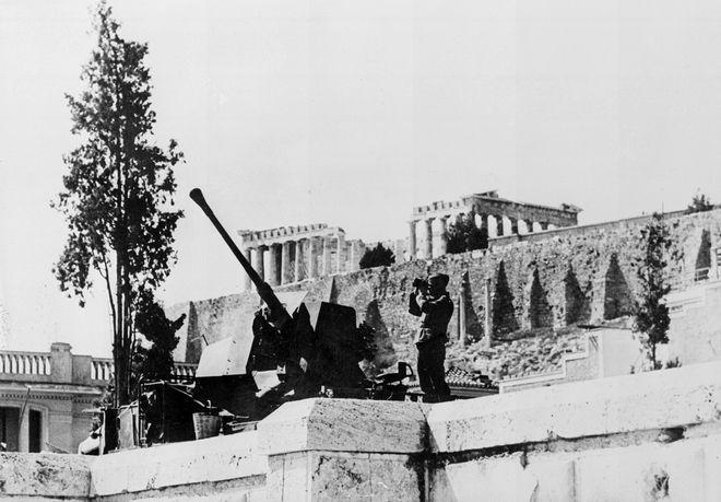 Γερμανοί στην Αθήνα το 1941