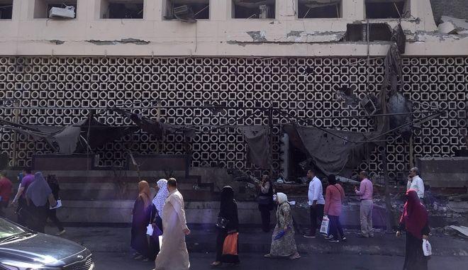 Έκρηξη οχήματος στο Κάιρο