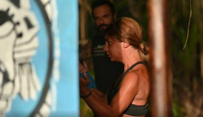 Η Μαριαλένα παρέδωσε μαθήματα καράτε στους παίκτες του Survivor 4.
