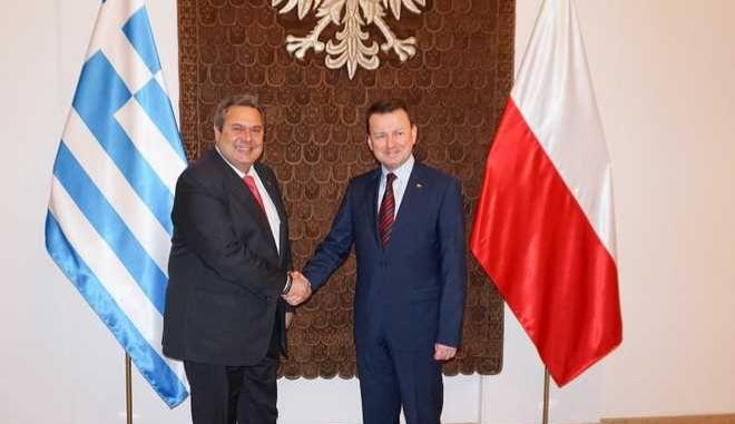 Συμφωνία αμυντικής συνεργασίας μεταξύ Ελλάδας και Πολωνίας