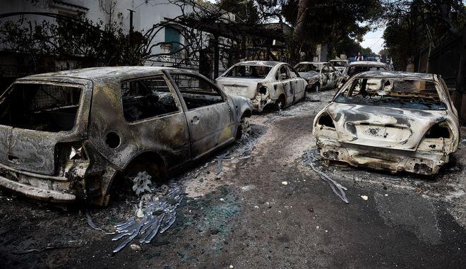 Η επόμενη μέρα μετά τη φονική πυρκαγιά στο Μάτι Αττικής