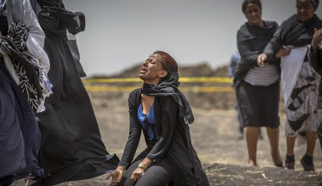 Συγγενείς των θυμάτων του Boeing 737 Max 8 της Ethiopian Airlines