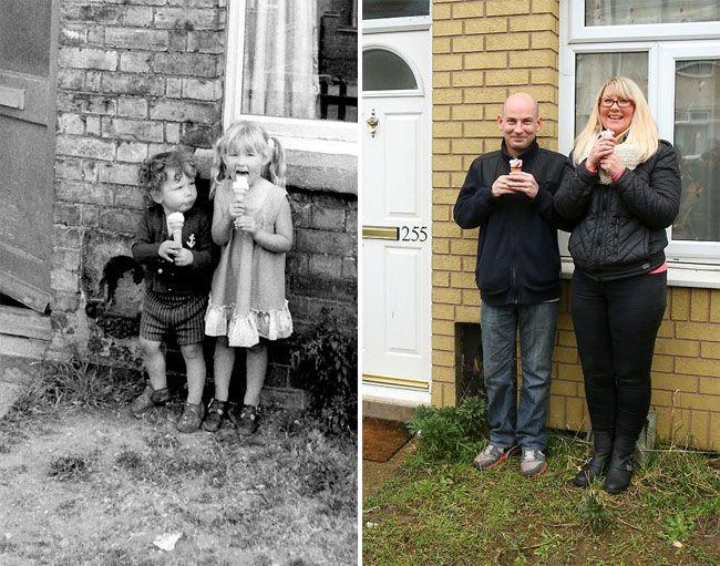 Επέστρεψε στη γειτονιά του μετά από 40 χρόνια και φωτογράφησε τους ίδιους ανθρώπους