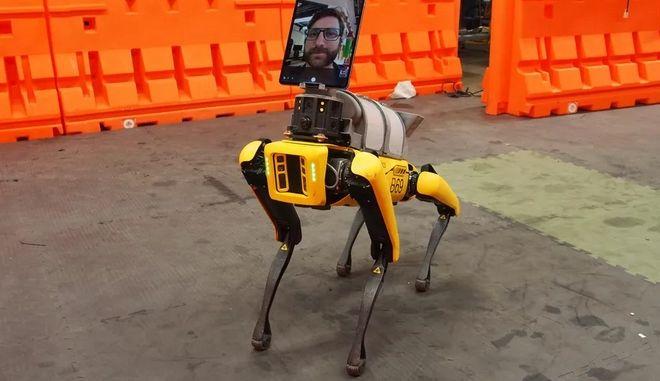 Spot, το τετράποδο ρομπότ
