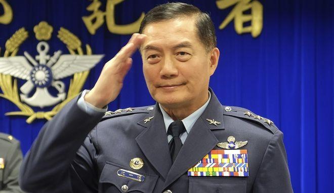 Ο πτέραρχος Σεν Γι-μινγκ