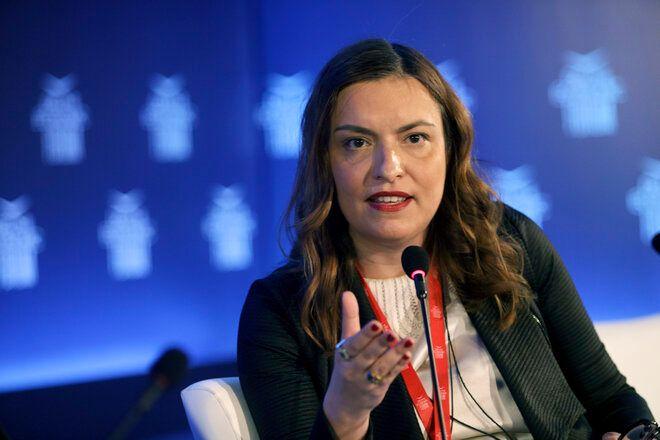 H Διευθύνουσα Σύμβουλος της ΕΕΣΥΠ κα Ράνια Αικατερινάρη.