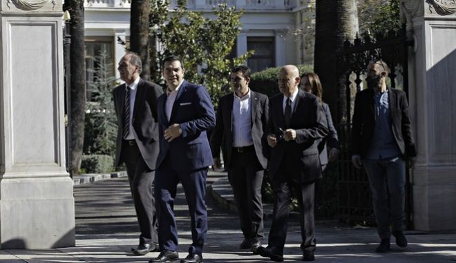 Greek cabinet reshuffle swearing-in ceremony in Athens, Greece on Nov 5, 2016. /            5 , 2016