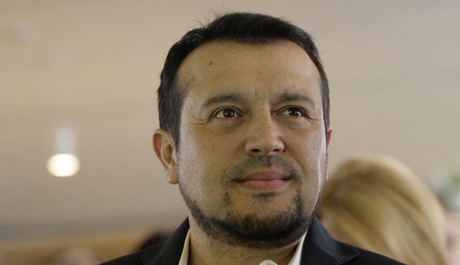 Ο υπουργός Ψηφιακής Πολιτικής, Τηλεπικοινωνιών και Ενημέρωσης Νίκος Παππάς Νίκος Παππάς